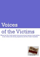 Cover of 'Voices of the Victims'